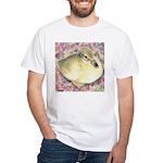 Snowy Mallard Duckling White T-Shirt