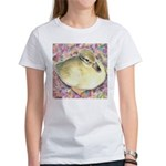 Snowy Mallard Duckling Women's T-Shirt