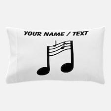 Custom Music Notes Pillow Case