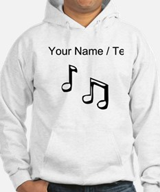 Custom Eighth Notes Hoodie