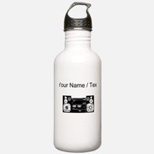 Custom Boombox Water Bottle