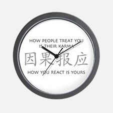How You React Is Yours Wall Clock