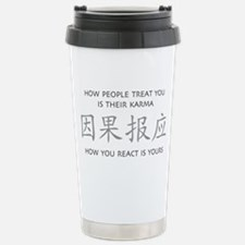 How You React Is Yours Travel Mug