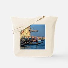 Venetian gondoliers Tote Bag