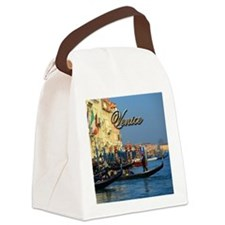 Venetian gondoliers Canvas Lunch Bag