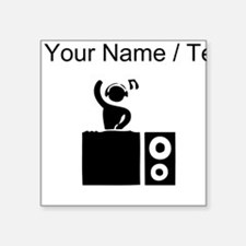 Custom DJ Booth Sticker