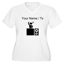 Custom DJ Booth Plus Size T-Shirt
