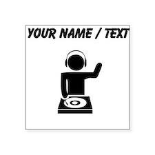 Custom Music DJ Sticker
