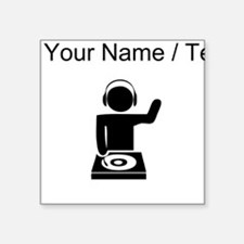 Custom Music DJ Sticker