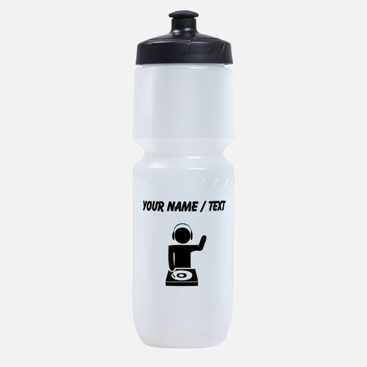 Custom Music DJ Sports Bottle