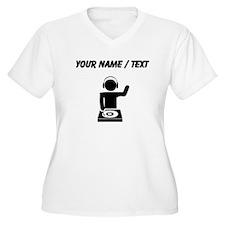 Custom Music DJ Plus Size T-Shirt