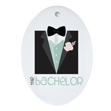 The Bachelor Ornament (Oval)