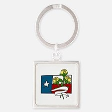 Texas Yellow Roses Keychains