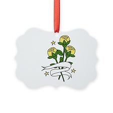 Texas Roses Ornament