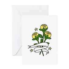 Texas Roses Greeting Cards