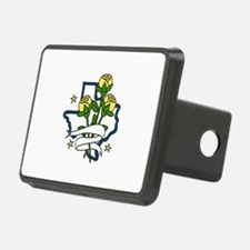 TEXAS Yellow Roses Hitch Cover