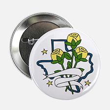 """TEXAS Yellow Roses 2.25"""" Button"""