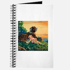 Saint Bernard Watercolor Journal