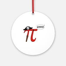 Pi R Squared Ornament (Round)