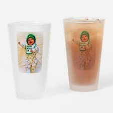 Kiss Me I'm Irish! Drinking Glass