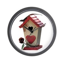 birdhouse 3 Wall Clock