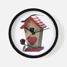 birdhouse 3 Wall Clock