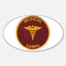 Army Medical Corps Decal