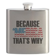 Because Merica Flask