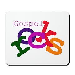 Gospel Rocks Mousepad