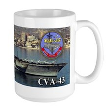 USS Coral Sea CVA-43 Mugs