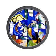 Franz Marc - Lying Bull Wall Clock