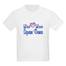 Live Love Square Dance T-Shirt