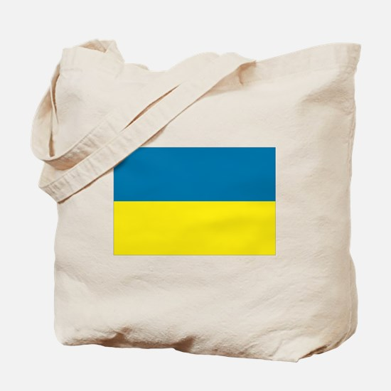 Ukranian flag Tote Bag