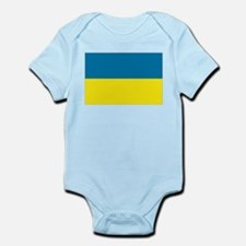 Ukranian flag Infant Bodysuit