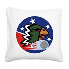 498th_bomb_sq.png Square Canvas Pillow