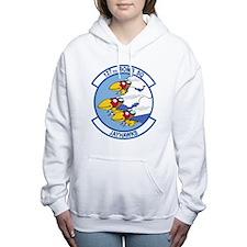 127th_bomb_sq.png Women's Hooded Sweatshirt