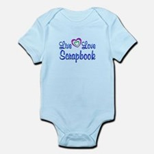 Live Love Scrapbook Infant Bodysuit