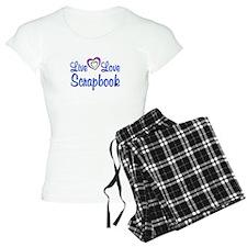 Live Love Scrapbook Pajamas