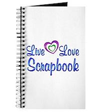Live Love Scrapbook Journal