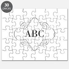 Vintage Monogram Puzzle