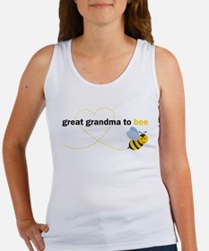 Great Grandma To Bee Tank Top