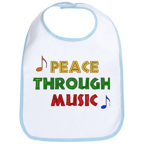 Peace Through Music Bib