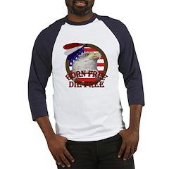 Born Free American Eagle Baseball Jersey