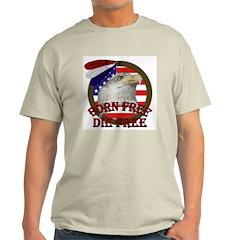 Born Free American Eagle Ash Grey T-Shirt