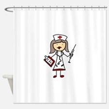 Nurse Shower Curtain