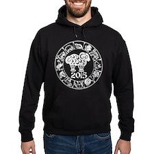 Chinese Zodiac Sheep 2015 Hoodie