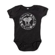 Chinese Zodiac Sheep 2015 Baby Bodysuit