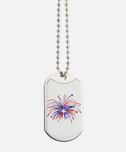 Fireworks Dog Tags