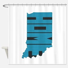 Indiana Home Shower Curtain