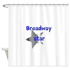 Broadway Star Shower Curtain